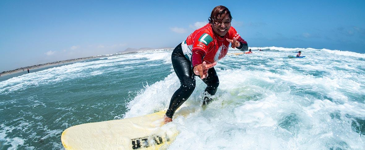 curso de surf en Lanzarote