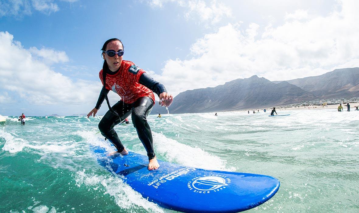 escuela de surf en Lanzarote
