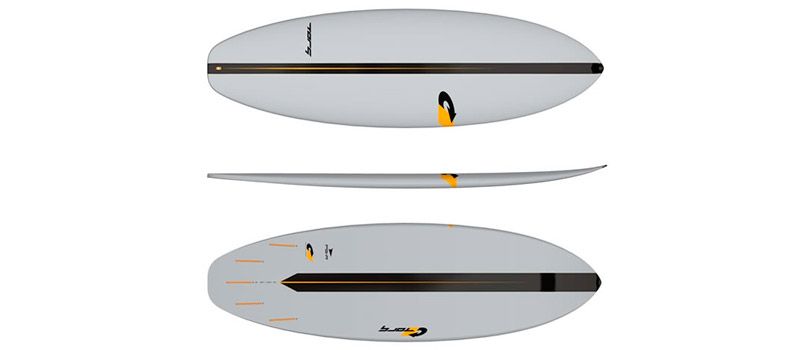 tabla de shortboard para surf