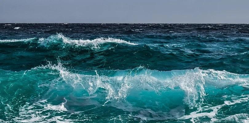 Formación de las olas