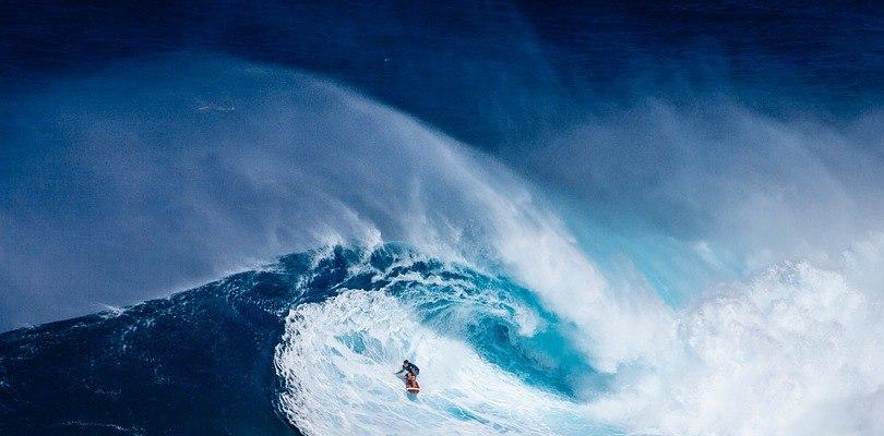 ¿Cómo se forman las olas?