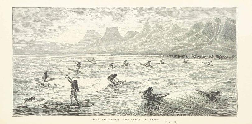 Orígenes del surf en Hawai