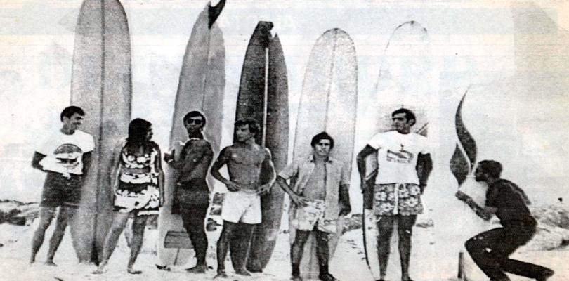Historia del surf en los 60