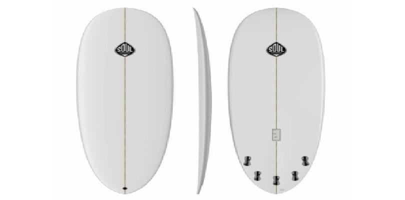Partes de una tabla de surf